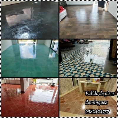 Pulimos cualquier tipo de piso