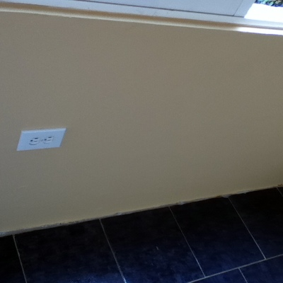 Pintura pared de cuarto