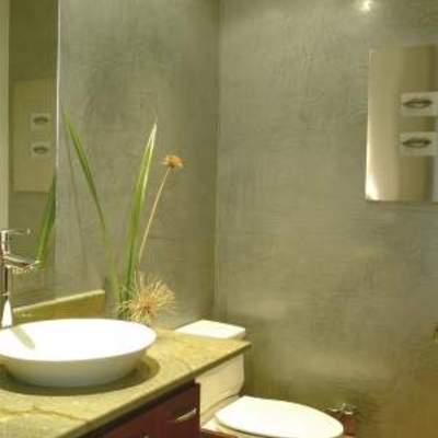 acavados en muro de baños