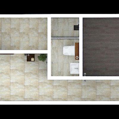 Planta Arquitectónica - Proyecto Depto Santiagio