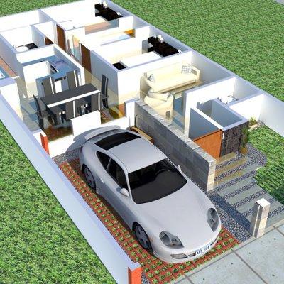 Planta Propuesta Casa Habitación