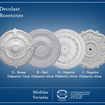 Medallones decorativos