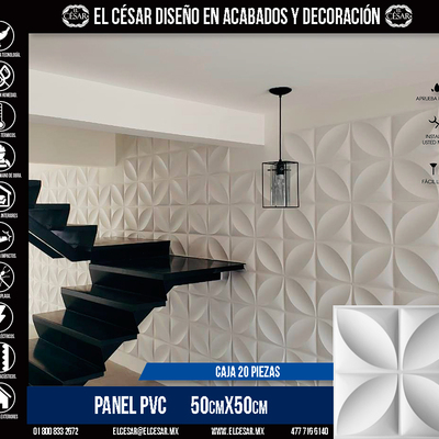Panel PVC Modelo J10