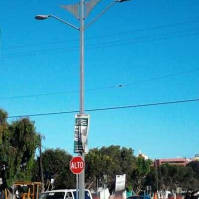 postes de alubrado ya instalados rosarito bc