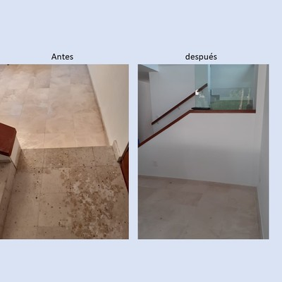 Limpieza profunda de pisos