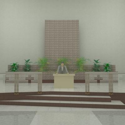 Proyecto Atrio para la Parroquia La providencia en Azcapotzalco