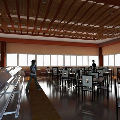 Propuesta de diseño restaurante