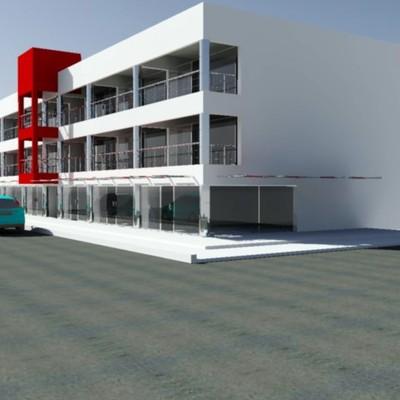 Proyecto Edificio Comercial. La Paz, B.C.S.