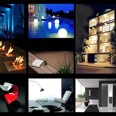 Proyectos de iluminación e interiorismo.