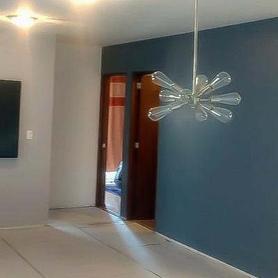 Cambio de colores en sala