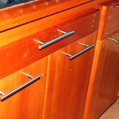 puertas de mueble, cajones con divisiones