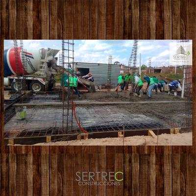 Trabajadores de SERTREC Construcciones