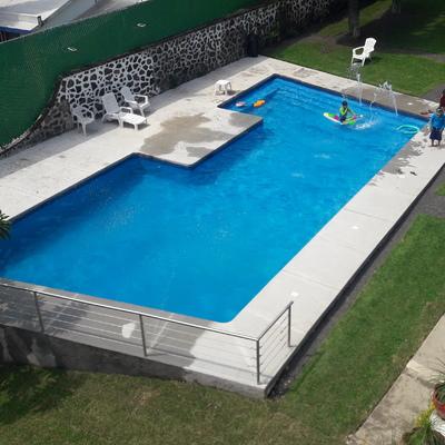Remodelación integral de alberca en Cuernavaca