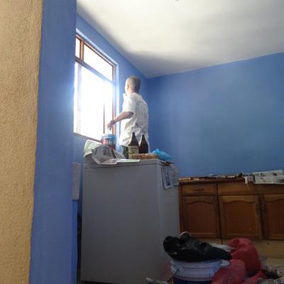 Recortando la paredes