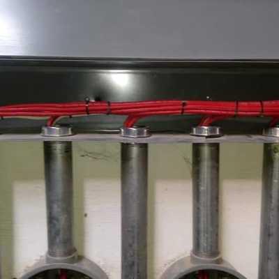 canalización de  tuberías
