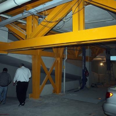 Reestructuración de estacionamiento