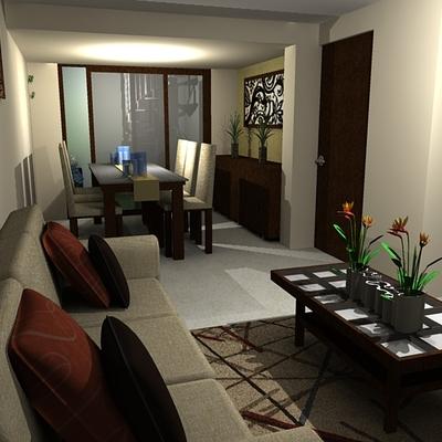 Remodelación espacio habitacional