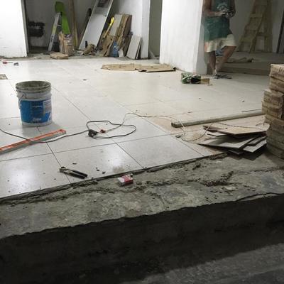 colocación de firme para piso