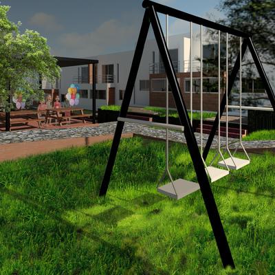 Vivienda Urbana (espacio recreativo)