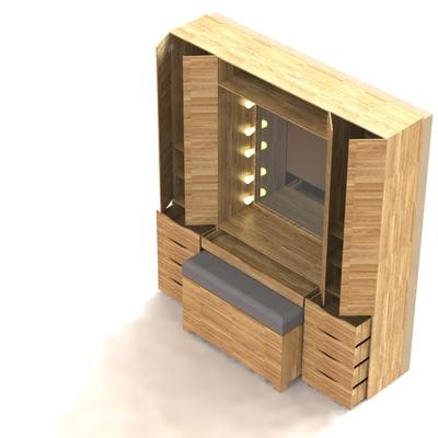 Modelo 3D Closet