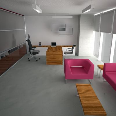 Render Propuesta Arquitectónica Coporativo 2