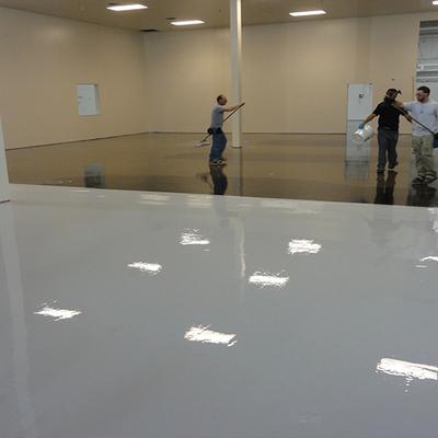 pintura epoxica en piso
