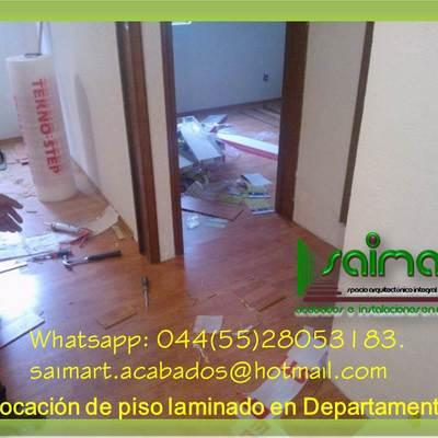 PISO LAMINADO Y PARQUET