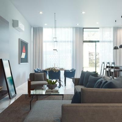 Sala proyecto altabrisa residencial lotes 6,7 | Mazatlan sinaloa