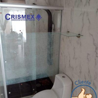 Cancel de Baño Corredizo de 6 mm Crismex