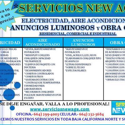 SERVICIOS NEW AGE