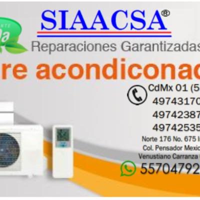 Aire Acondicionado SIAACSA