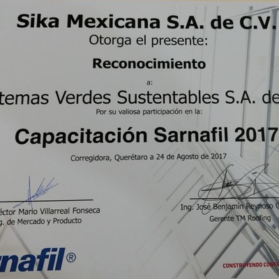 Personal certificado y actualizado