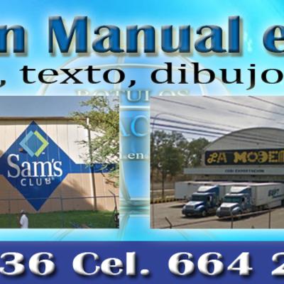 rotulacion manual