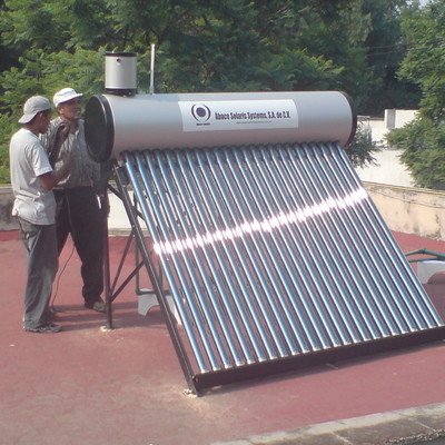 Sistema Foto-térmico 240 Litros - Coyoacán D.F.