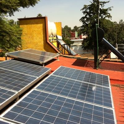 Sistema Fotovoltaico y Sistema Foto-térmico - Coyoacán, D.F.