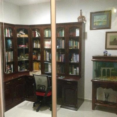 adapatacion de librero de madera