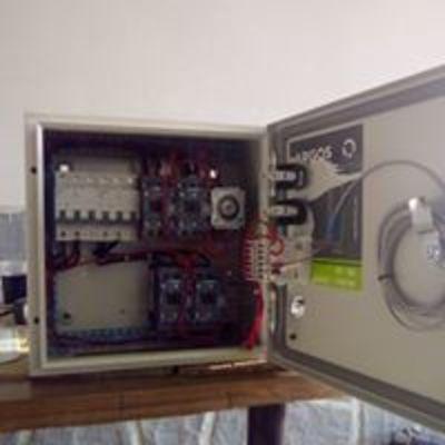 tablero de control para freído industrial