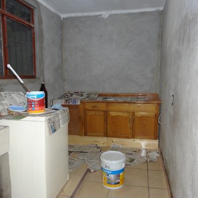 Techo de lavanderia terminado