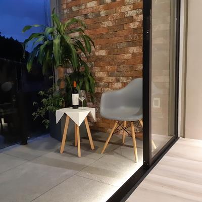 Terraza iluminación indirecta