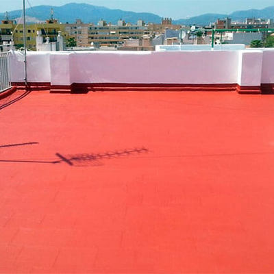 Impermeabilizacion color terracota marca imperio