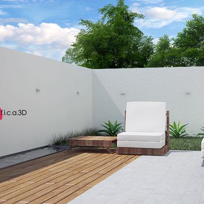 Terraza - Diseño de interiores e infografía