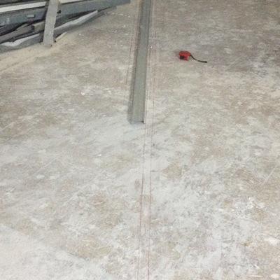 Trazo y nivelacion para trabajos de tabla roca