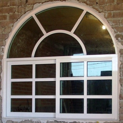 ventana con cercha