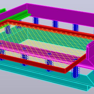 Diseño de equipo vibratorio para polvos