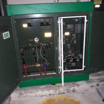 Servicio a transformador de 300 KW