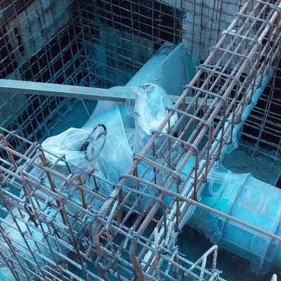 construcción de registro para agua potable