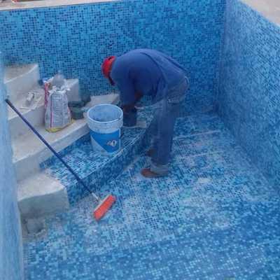 Forrado de Escaleras con Azulejo Veneciano