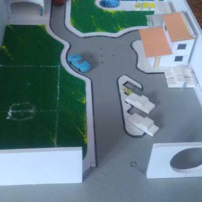 Maqueta Proyecto Contrucción