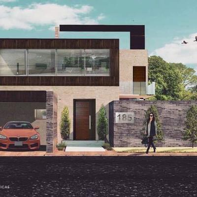Fachada proyecto vivienda Camelina