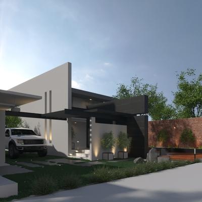 Pre visulización 3D Casa Trinidad